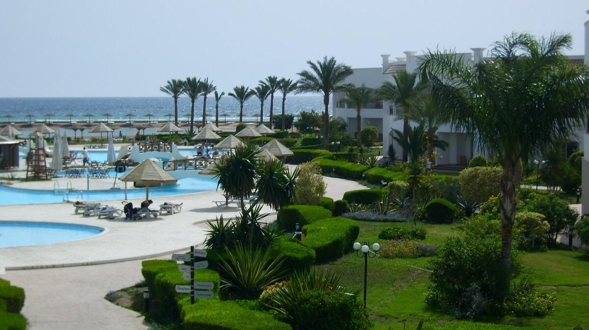 Hurghada, Grand Seas Resort HostMark, bazeni