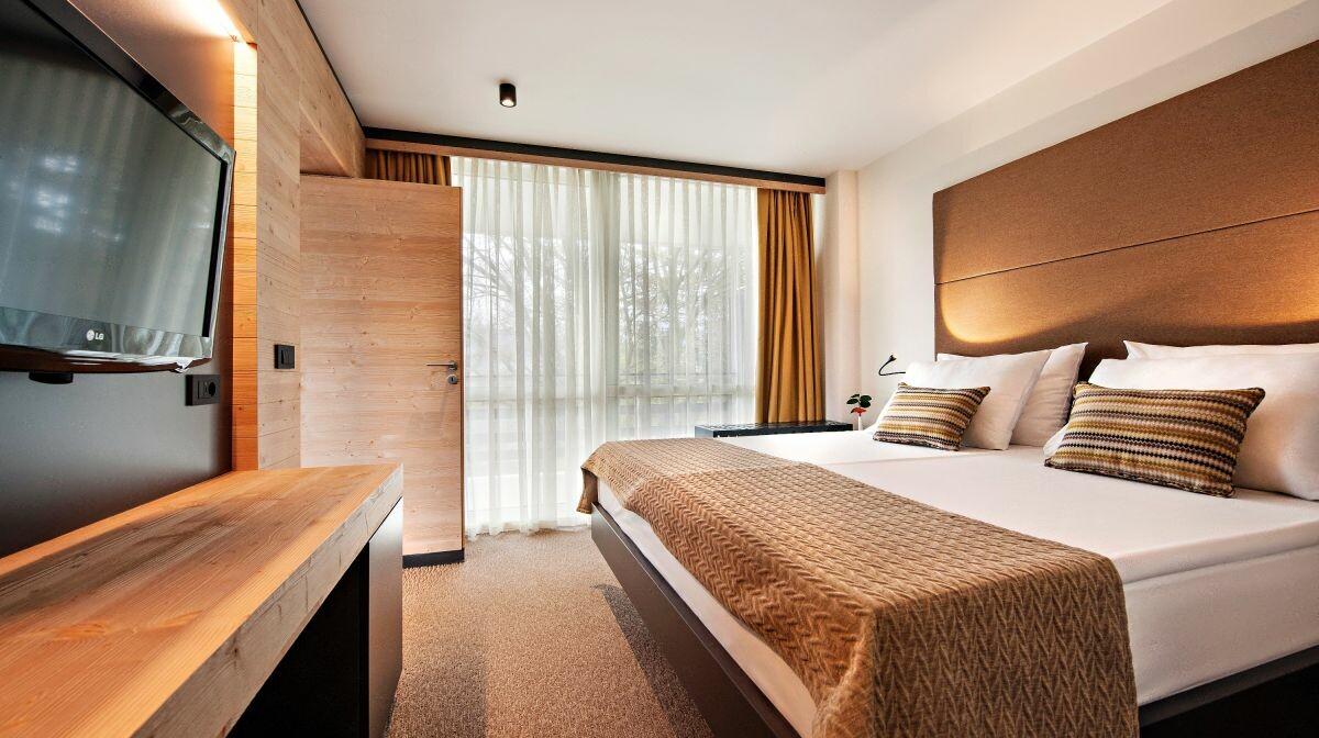 Skijanje i wellness u Sloveniji, Bled, Hotel Rikli Balance Hotel, spavaća soba