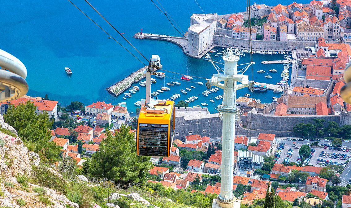 Dubrovnik, žičara