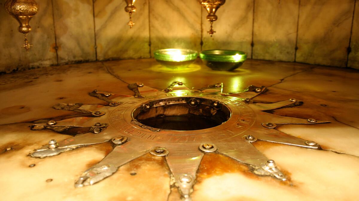 Betlehem, rodno mjesto Isusa Krista u crkvi Isusova rođenja, putovanje u Izrael i Jordan,