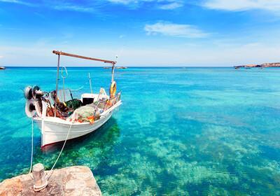Pješčana plaža Els Pujols, ljetovanje Mediteran, putovanje Formentera, putovanje zrakoplovom