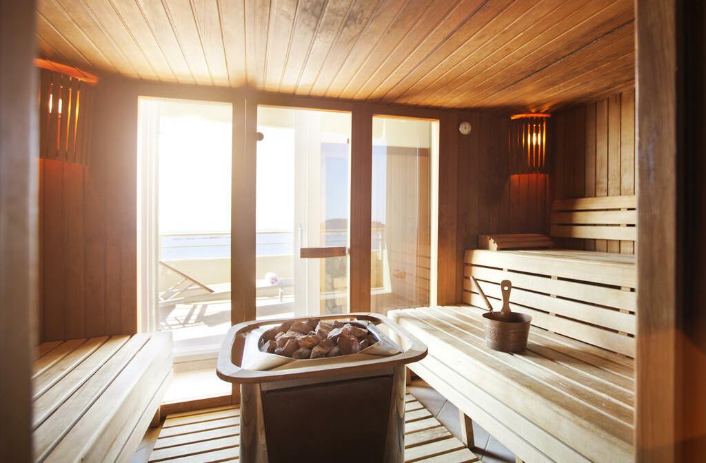 Cavtat, Hotel Croatia, sauna