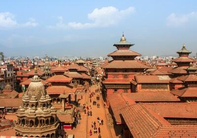 Nepal, Katmandu, trg Durbar