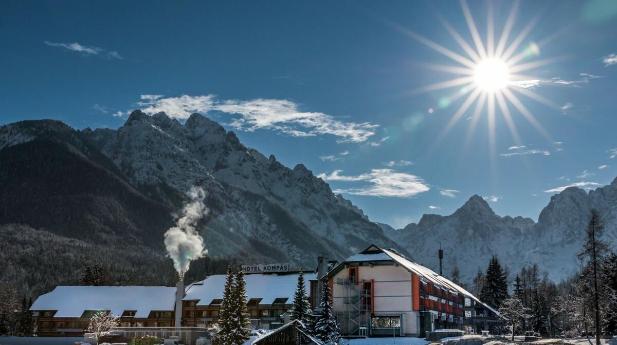 Slovenija, skijanje Hotel Kompas, Kranjska Gora, zima