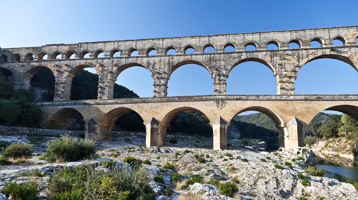 Pont du Gard francuska, putovanje autobusom