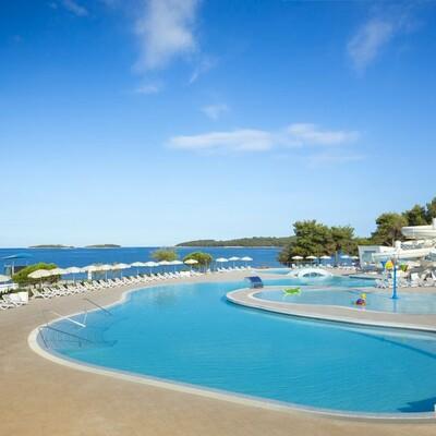 Rovinj, Villas Rubin Resort, bazen