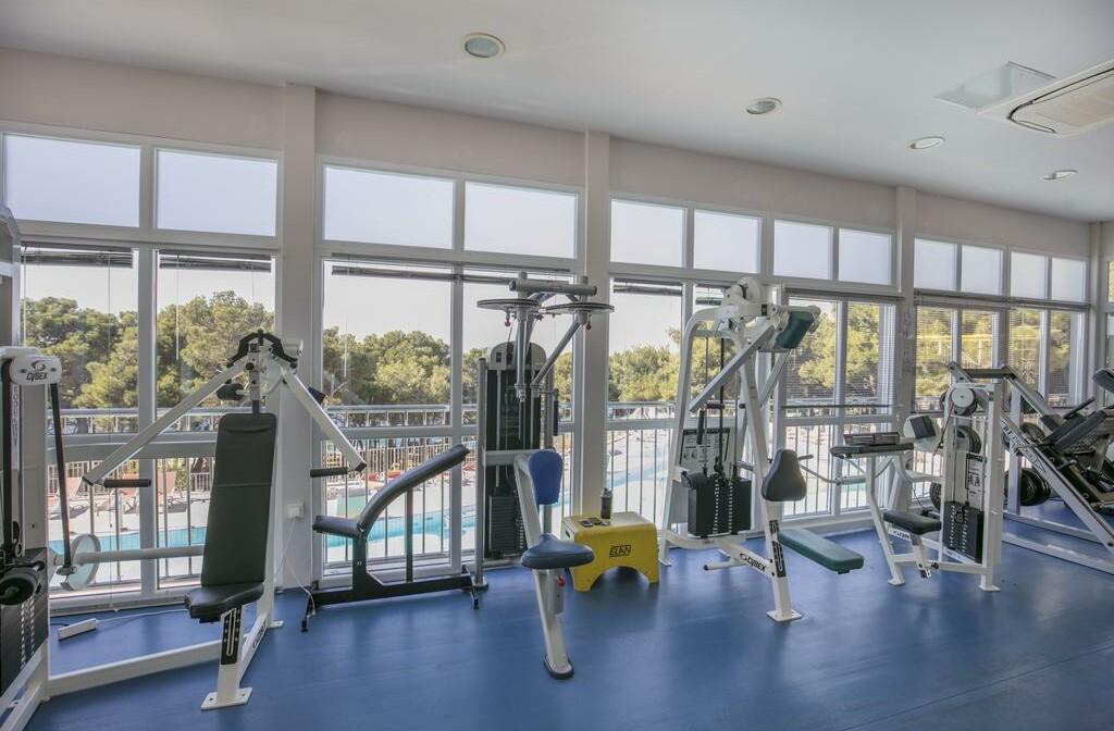 Fitness centar hotela Aurora u Malom Lošinju