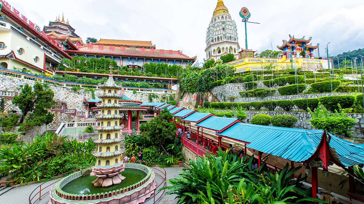 Malezija - Penang, Kek Lok Si hram