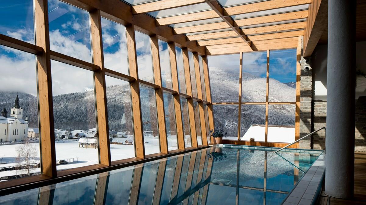 Skijanje i wellnes u Sloveniji, Bohinj Park ECO Hotel exclussive wellness, bazen