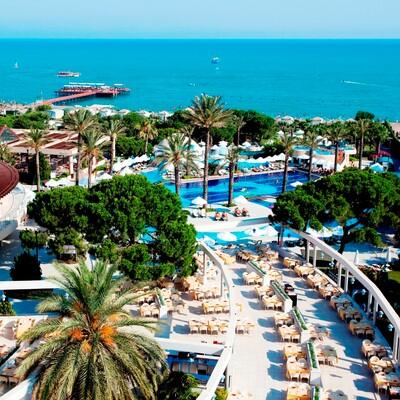 Antalya, Belek, Hotel Limak Atlantis, bazen i pogled na more