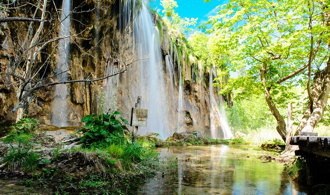 Plitvička jezera vodopad