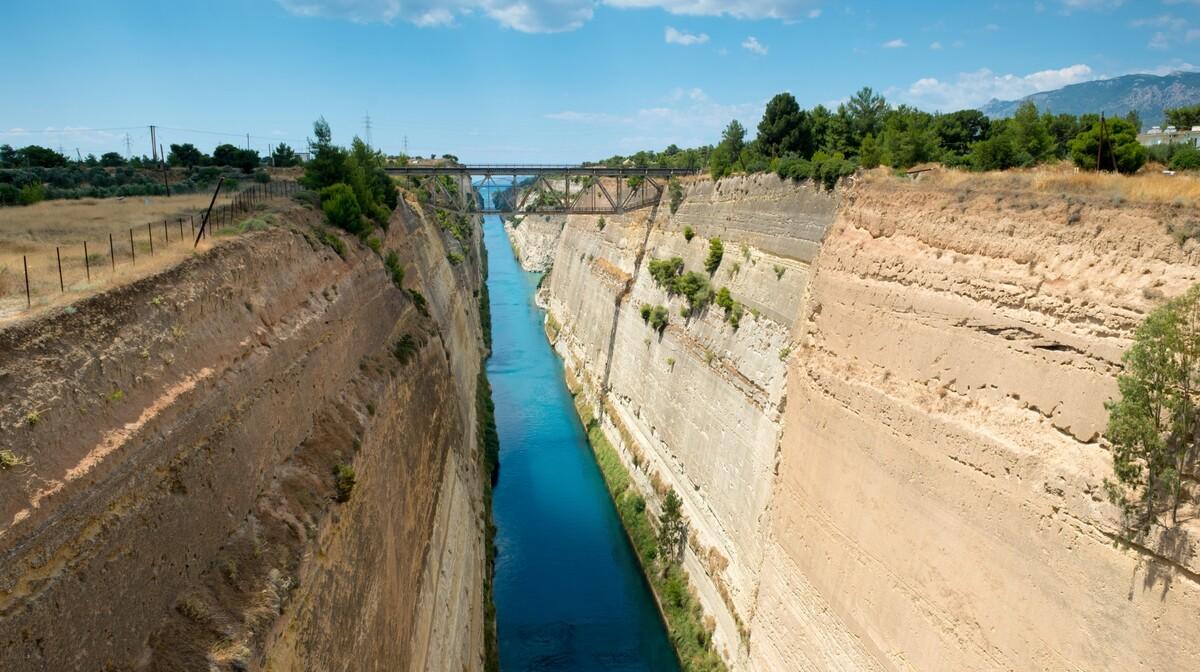 Grčka - Korintski kanal