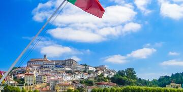 Studenstski grad Coimbra, putovanje u Portugal