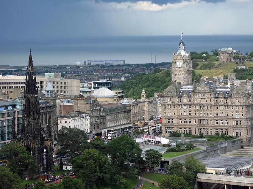 Edinburg, putovanje Škotska, garantiran polazak