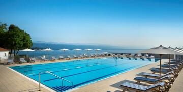 Vanjski bazen u hotelu Admiral, Opatija