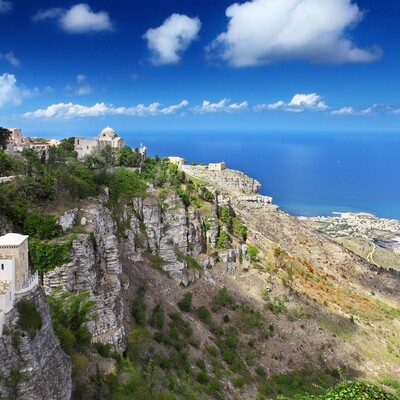 Erice, putovanje sicilija, europska putovanja zrakoplovom