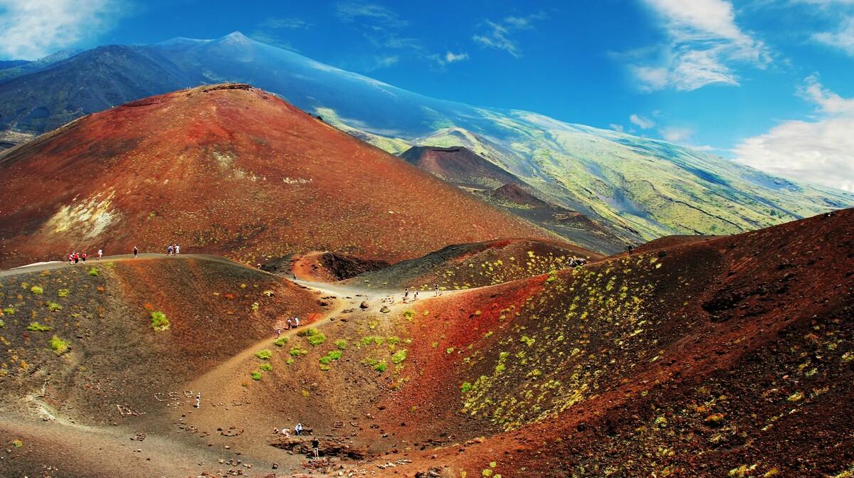 Etna, najviši Vulkan u Europi