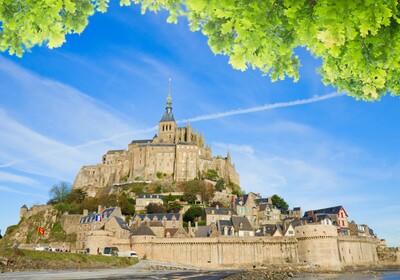 Normandija  - Mont saint Michel