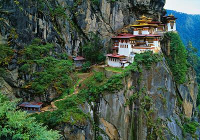 Butan,Taktsang Palphug Monaster