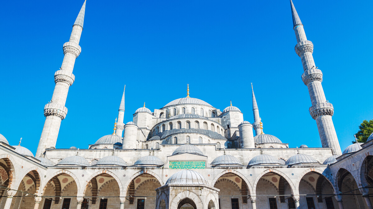 Džamija Sultana Ahmeda na putovanju u  istanbul