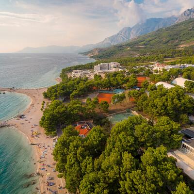 Makarska, Rivijera Sunny Resort, panorama