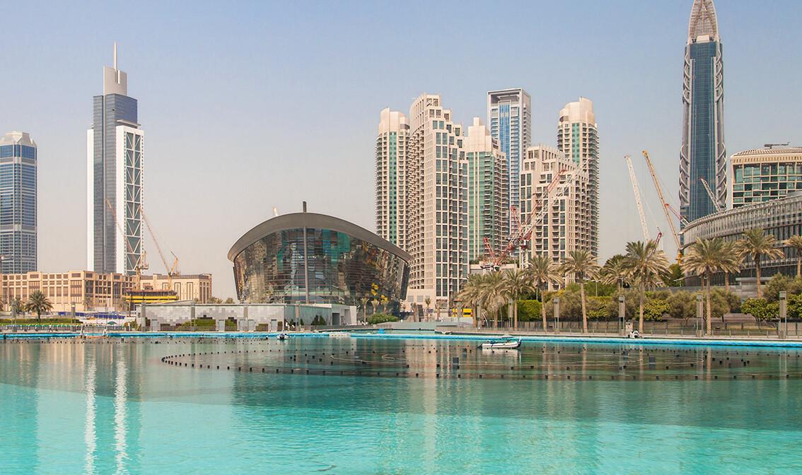 Dubai, Opera i jezero Burj Khalifa, daleko putovanje zrakoplovom, grupni polasci,