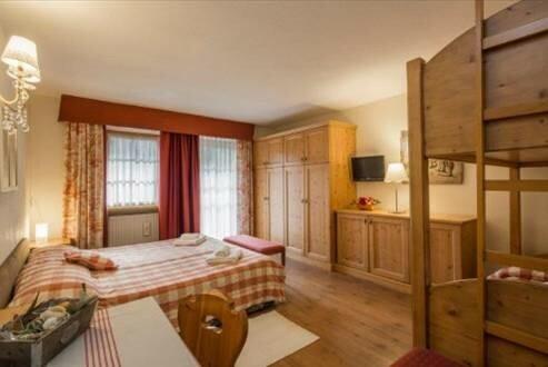 Skijanje u Italiji, Alta Badia, Colfolsco, Apartmani Chalet Morin, primjer apartmana
