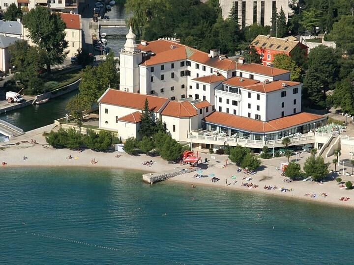 Crikvenica, Hotel Kaštel, panorama
