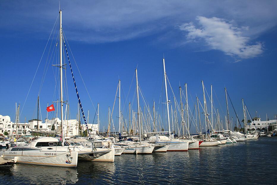 gradić Port El Kantaoui, Tunis, ljetovanje Mediteran, charter let Tunis, garantirani polasci