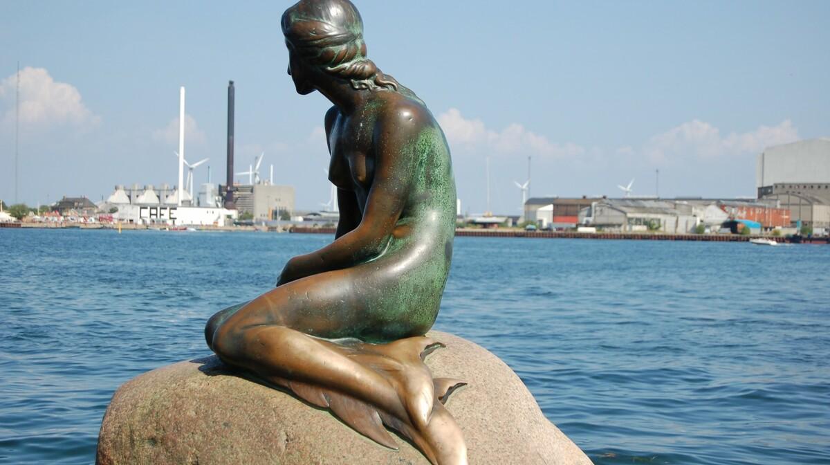 simbol Kopenhagena Mala sirena iz bajke H.K. Andersona