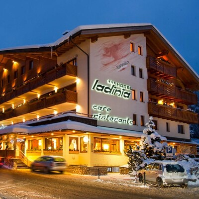La Villa, Hotel Ladinia