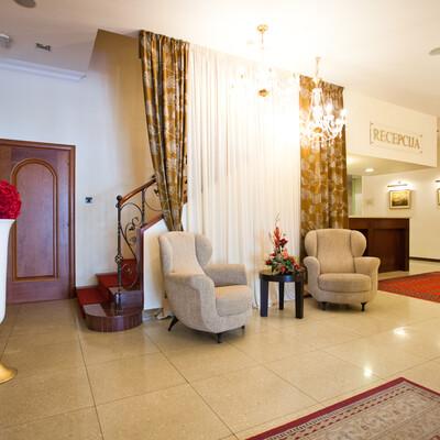 Split, hotel Globo, recepcija