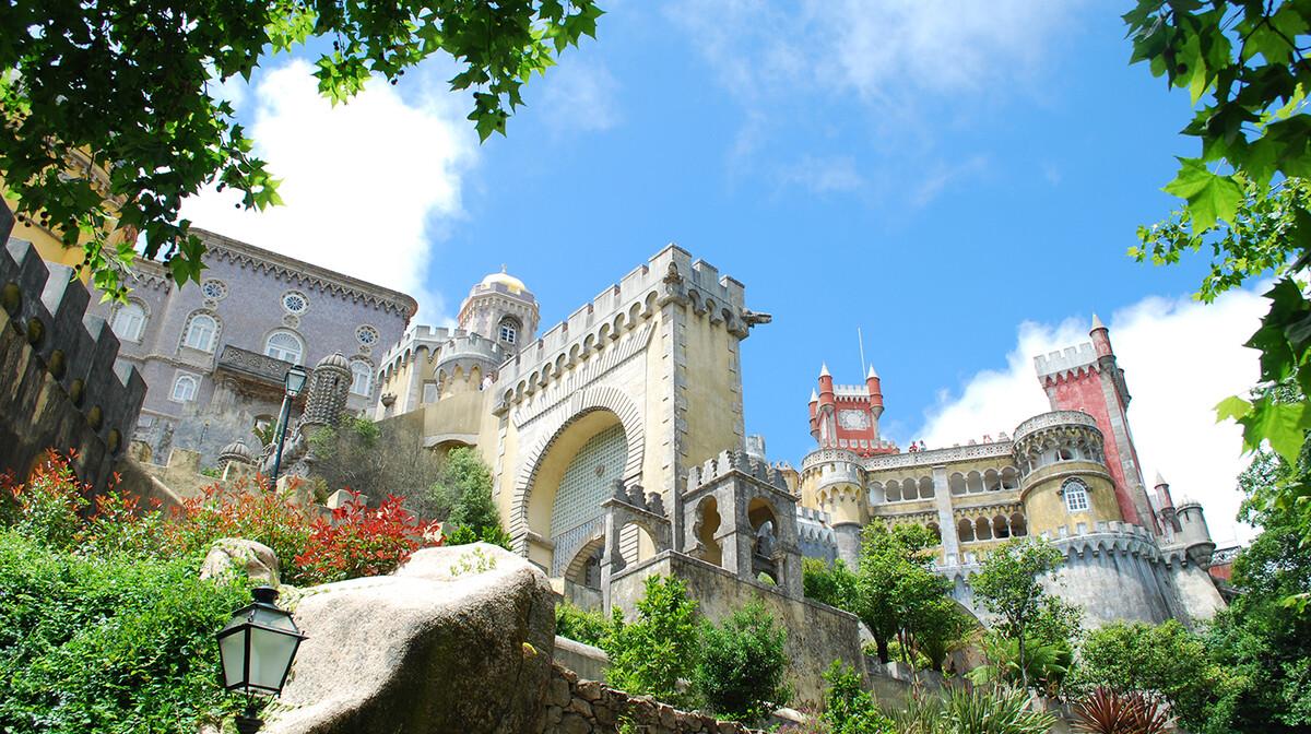 Putovanje u Portugal, palača Pena