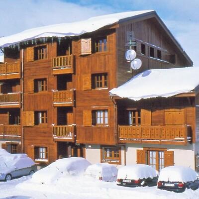 Skijanje u Francuskoj, Les 2 Alpes, Residence Alpina Lodge, izvana