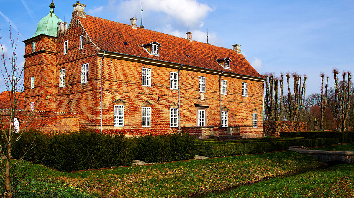 Povijesna palača na Danskom otoku Fyn Funen