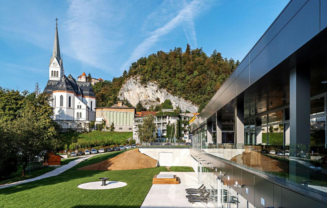 Skijanje i wellness u Sloveniji, Bled, Hotel Rose, izvana hotel
