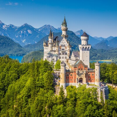 Bavarska - Neuschwanstein castle