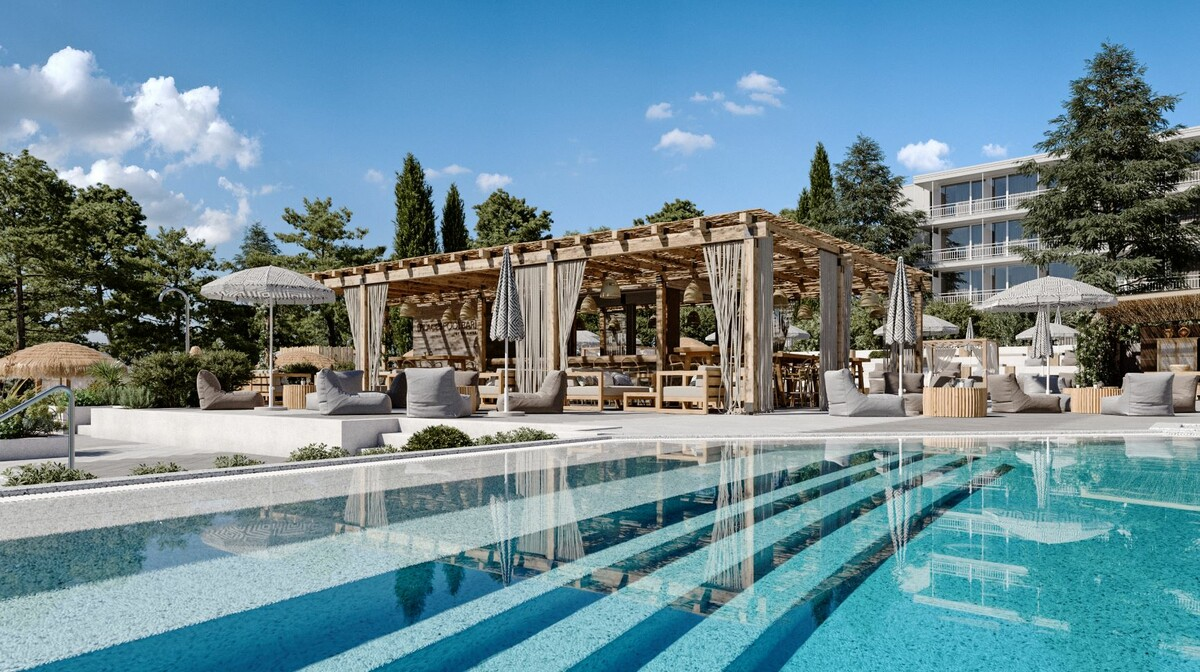 Stari Grad, Hvar, PLACES Hotel by Valamar, bazen