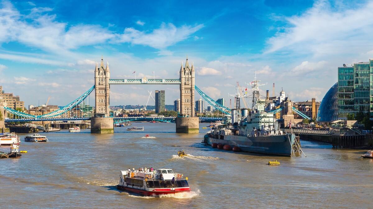 rijeka Temza, putovanje London