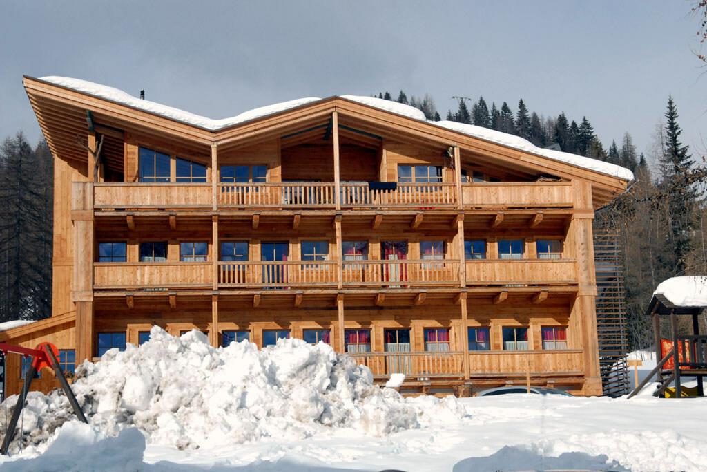 Skijanje u Italiji, Civetta, Residence Valpiciolla, pogled izvana