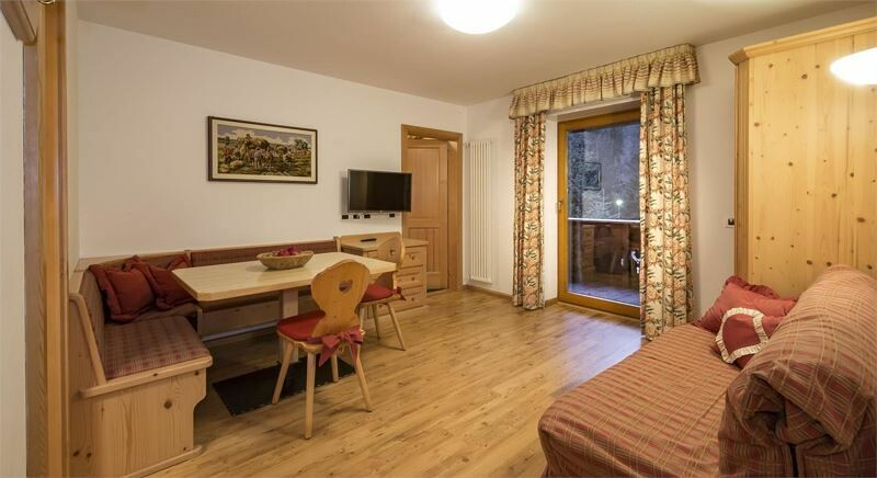 Skijanje u Italiji, Alta Badia, Colfosco, Residence Elisa, primjer apartmana