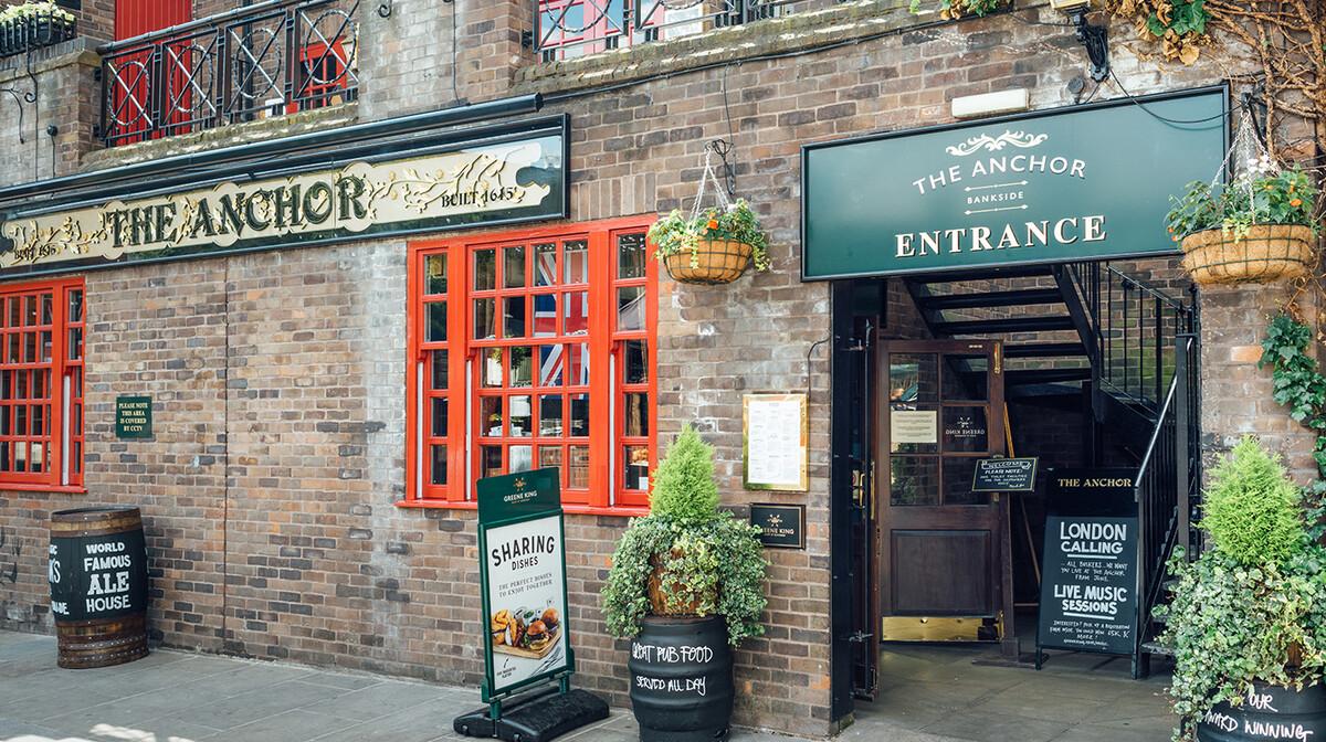 Londonski pub, putovanje u London