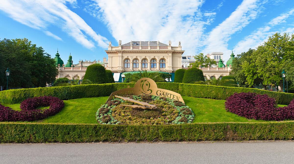 Vrtovi gradskog parka, putovanje u Beč, putovanje autobusom