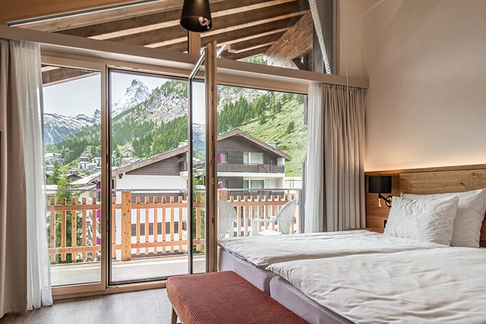 Zermatt, Naco Aparthotel by Arca, Junior krovni apartman