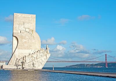Bijeli spomenik Otkrićima, putovanje Lisabon