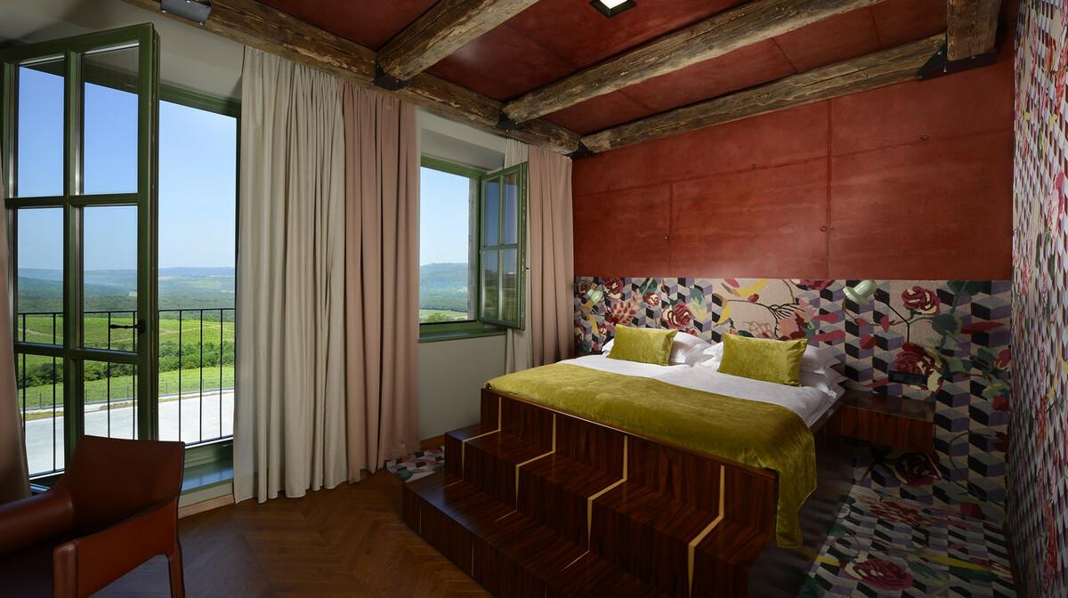 Wine and Heritage Hotel Roxanich - Motovun, soba, superior valle