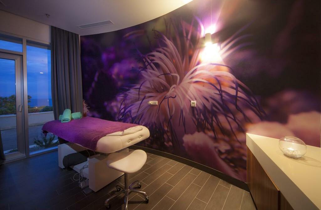 Soba za masažu u wellness centru hotelu Vitality Punta.