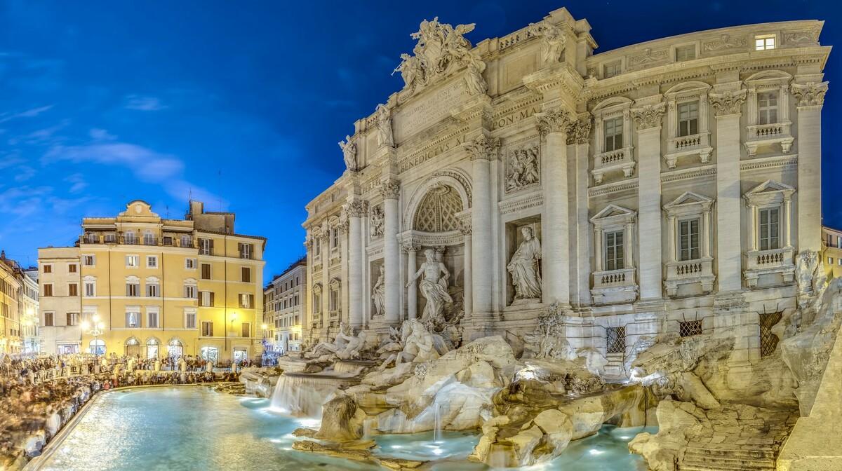 Rim - Trevi fontana