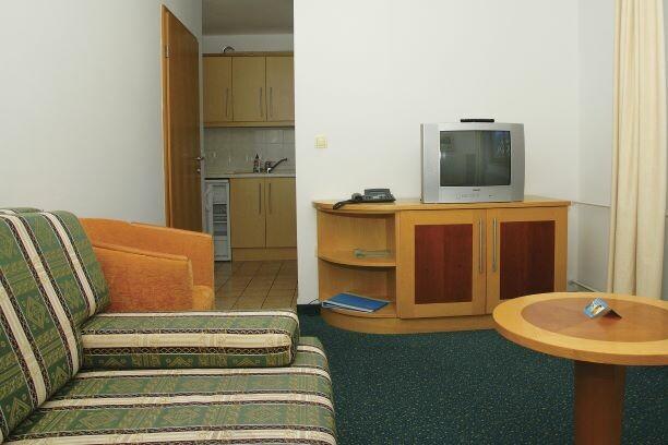 Slovenija, skijanje Slovenija, Kranjska Gora, Apartman Vitranc, dnevna soba u apartmanu