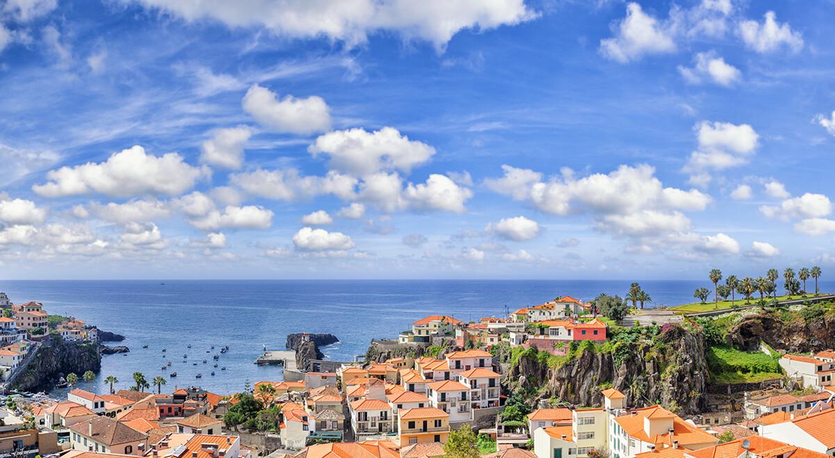 Madeira putovanje, ribarsko selo Camara de Lobos
